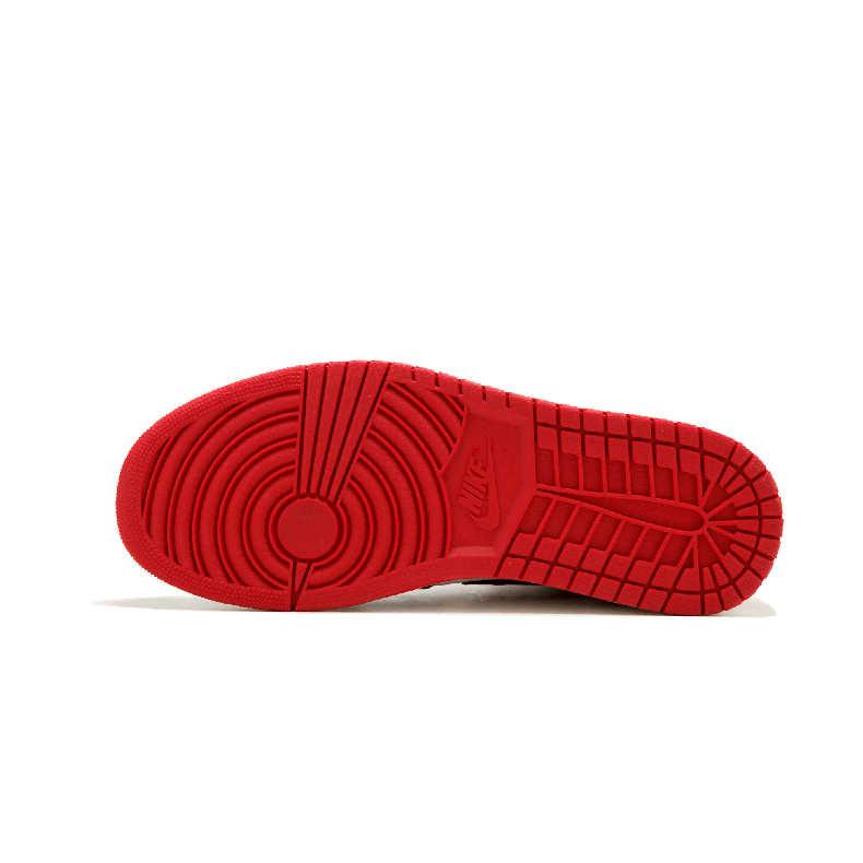 نايك الهواء الأردن 1 الأحذية الأصلية تنفس الأطفال حذاء كرة السلة في الهواء الطلق الرياضة رجل أحذية رياضية #555088-001