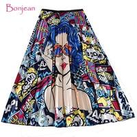 Яркая юбка-плиссе с рисунком Цена 879 руб. ($11.25) | 155 заказов Посмотреть