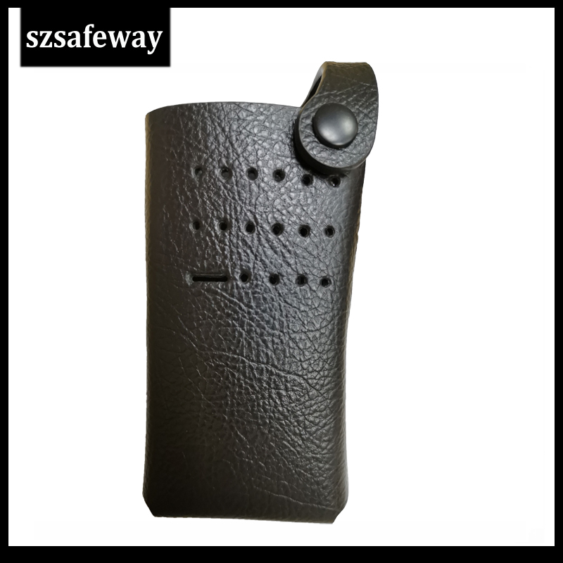 PMLN5870 Two Way Radio Leather Case Cover For Motorola XPR3300 P6600