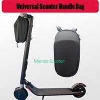Scooter cabeça lidar com saco para xiaomi mijia m365 scooter elétrico ninebot es nextdrive f0 carregam ferramentas carregador bateria garrafa telefone|Peças e acessórios p/ scooter| |  -