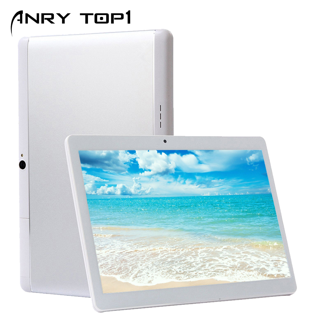 ANRY-101 10 Inch Android 7.0 Tablet PC 1280x800 Quad Core 4 GB RAM 32 GB ROM 5.0MP Dual SIM Card 3G Phone Call Video Tablets