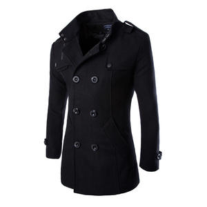 URSPORTTECH Trench-Coat Top-Quality Brand-Clothing Male Designer Winter New-Fashion Autumn