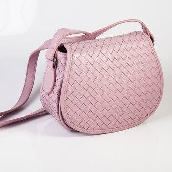 ISHARES Sheepskin Woven Luxury crossbody bags Women Girls messenger Handmade Designer Top Quality lambskin Bags Fashion IS8053