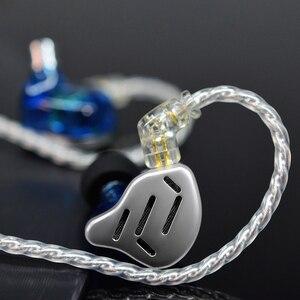 Image 5 - KZ ZAX Headset 16 Units HIFI Bass In Ear Monitor Hybrid technology Earphones Noise Cancelling Earbuds 7BA+1DD Sport Headphones
