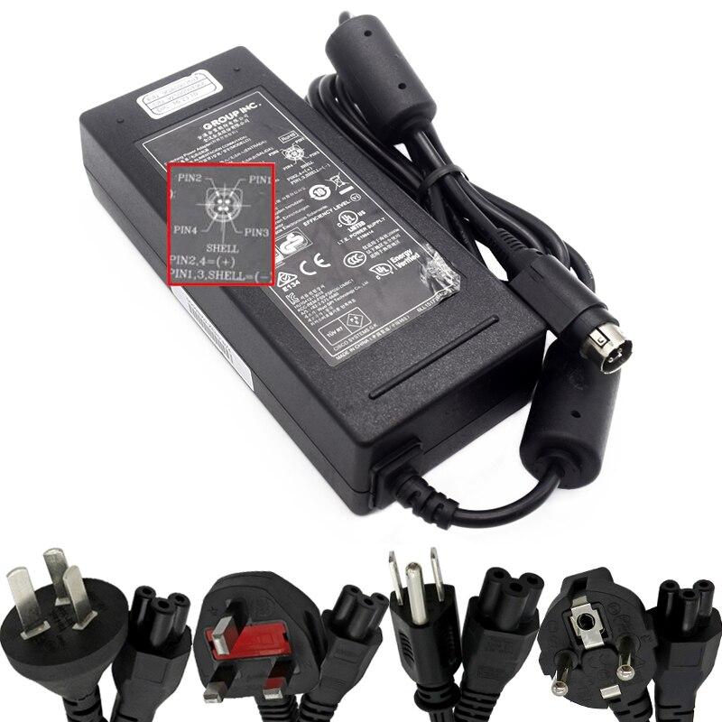 Véritable 54V 1.66A 90w FSP Chargeur adaptateur secteur pour ZYXEL GS1900-10HP GS1900-16 GS1900-24E GS1900-24 GS1900-24HP GS1900-48