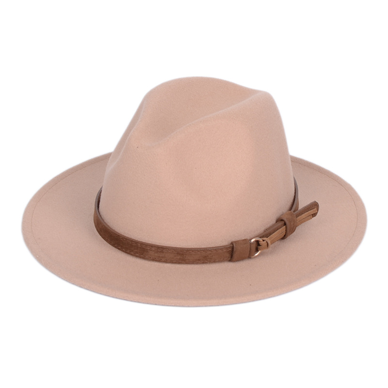 Men/'s fedora wool warm and comfortable adjustable large size 60CM hats unisex