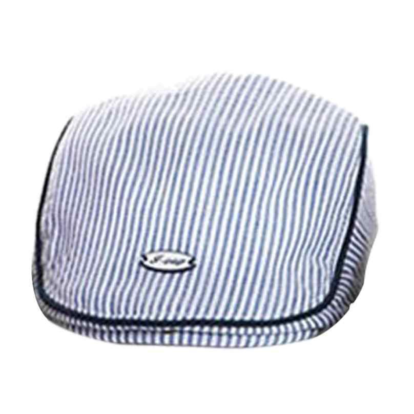 TELOTUNY חמוד תינוק תינוקות ילד ילדה פס כומתה כובע מצחית בייסבול כובע כותנה תינוק בני בנות קיץ שמש כובע האביב סתיו