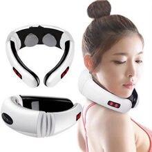 Электрический импульсный массажер для спины и шеи шейного отдела
