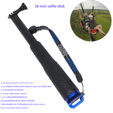 36 אינץ אלומיניום חדרגל Selfie מקל pro עבור 7 6 5 4 3 2 1 Sj4000 Sj6 Sj7 Sj8 פרו יי 4 K DJI אוסמו H8 H8R H9 H9R פעולה מצלמה