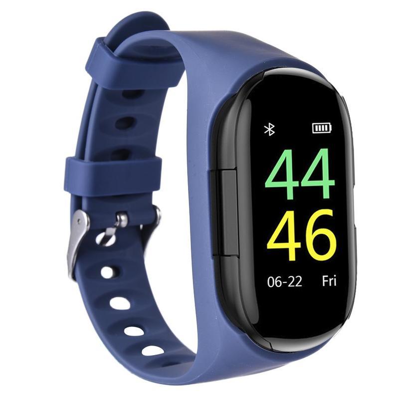 Часы с наушниками браслет наушники мониторинг сердечного ритма