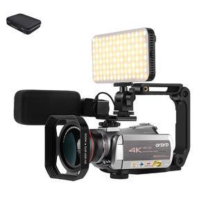 Ordro Digital Camcorder Video-Camera Professional Night-Vision Camara 64x-Zoom 4K Ultra