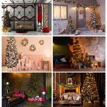 Shuozhike Рождественская фотография Фон елка фон для фотостудии