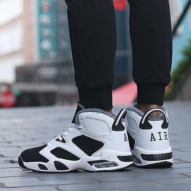 ユニセックスバスケットボールシューズ男性ブランドデザイン追加綿スニーカージョーダン最高品質運動デザイナー Bota Ş デ Baloncesto パラやつ