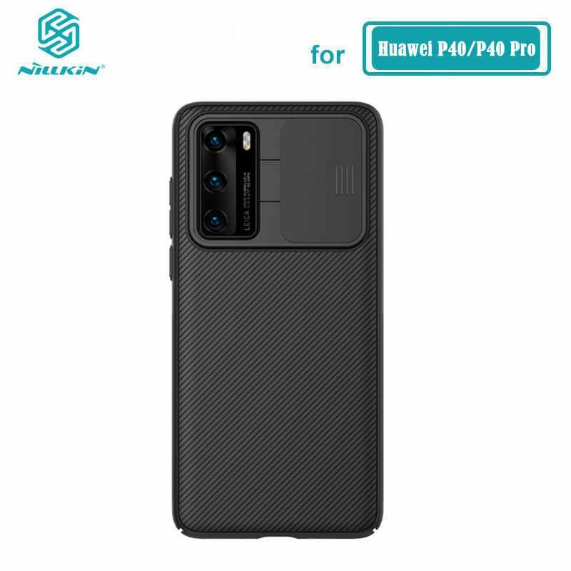 Kamera Schutz Fall Für Huawei P40 5G Gehäuse Nillkin Rutsche Schützen Objektiv Schutz Abdeckung für Huawei P40 Pro Fall