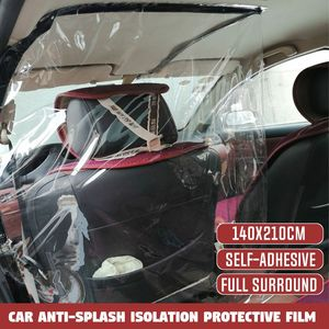 Car protection partition screen taxi taxi driver cab isolation film transparent anti-droplet protective film interior Protect(China)