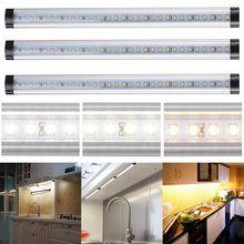 Kitchen Under Cabinet Shelf Counter LED Strip Lights Dimmable Light Bar Lighting Kit Lamp Energy Saving Night Lamp