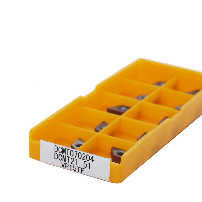 Discount 10PCS CCMT060204 UE6020 DCMT070204 VP15TF Carbide Inserts Turning Blade Plate Cutter CNC Lathe Tool Turning Holder