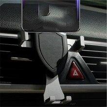 Suporte do telefone móvel universal para o suporte do telefone do carro gravidade sensing aperto automático suporte de fixação constante suporte suporte