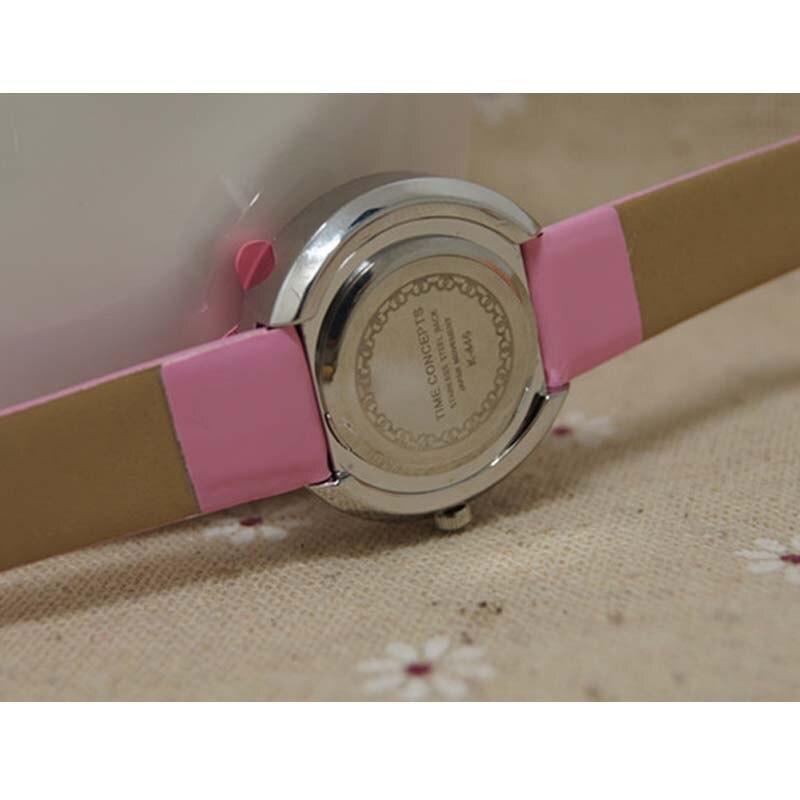 Высокое качество дети часы привет котенок мода повседневная студент девочка мальчик часы милый мультфильм водонепроницаемый часы для детей детей