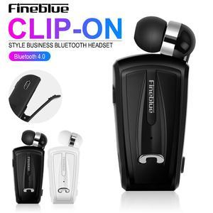 Image 5 - Fineblue F V6 bluetooth 4.1ミニイヤホンステレオbluetoothワイヤレスクリップイヤホンiosのandroid携帯ノイズキャンセルミニ