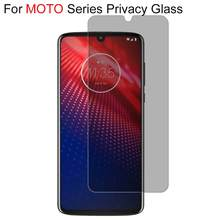 Anti Spy Tempered Glass For Motorola Moto G7 P30 Play G7 PLUS Z4 Privacy Screen Protector For Moto One P30 Note G7 Power Glass(China)