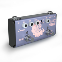 Donner Octave Fuzz Guitar Bass Effect Pedal Fuzz Seeker 2 way Selector Electric Guitar Accessories True Bypass New