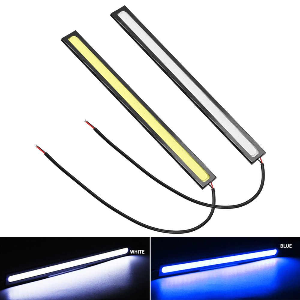 Auto Tagfahrlicht COB DRL LED Lampe Externe Lichter für Subaru Forester SG SH SJ SK Outback WRX STI XV Impreza Legacy