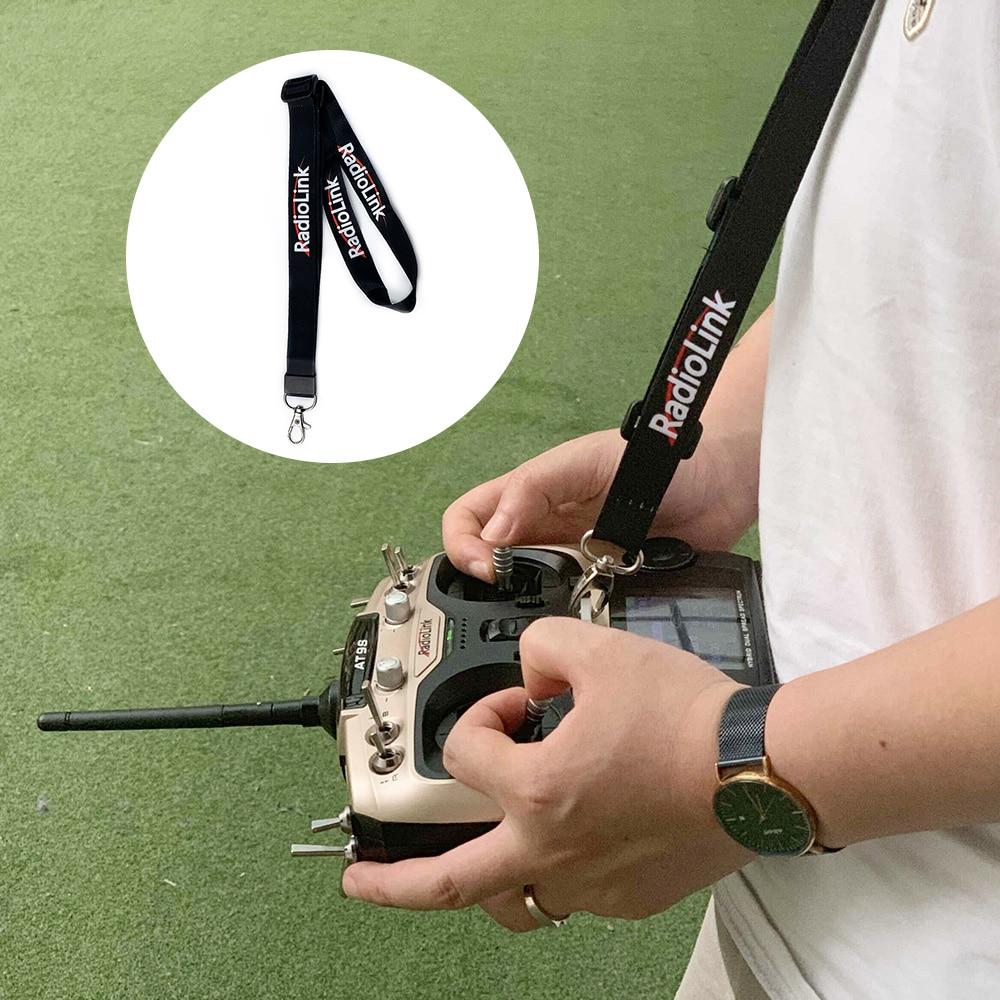 Adjustable Length Strap Lanyard For Radiolink AT9/AT9S/AT10/AT10/T8FB Neck Sling Belt For RC Transmitter Hook Mount