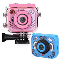 Children Camera 1080P Video Camera Camcorder 2.0 Inch Digital Photo Video Camera waterproof Kids Camera for Child birthday gift