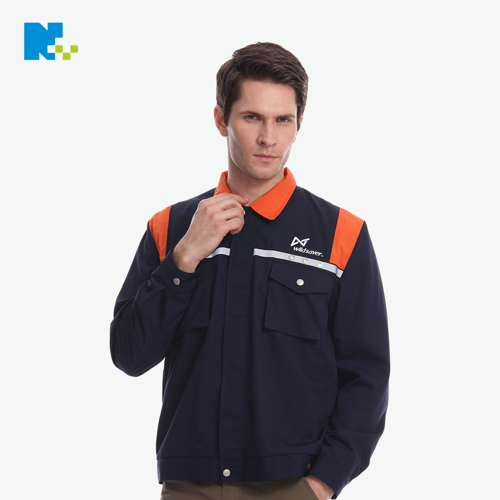 Nian Wang Electronic Reflective Vest Manufacturers Reflective Vest Safe Protection Architecture Workers Work Clothes Customizabl
