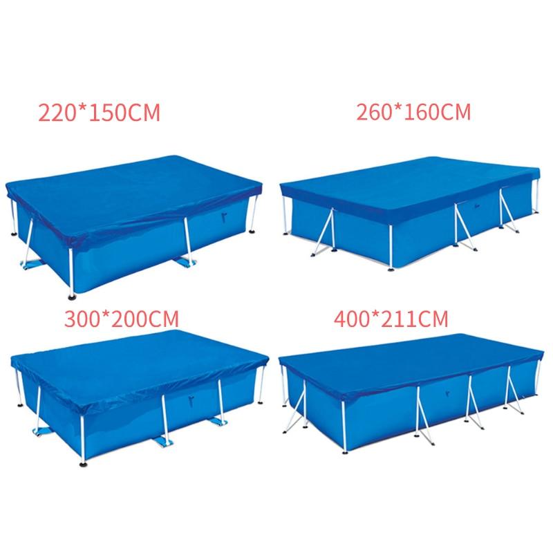 Защитный чехол для бассейна, 400*211 см/300*200 см/260*160 см/220*150 см