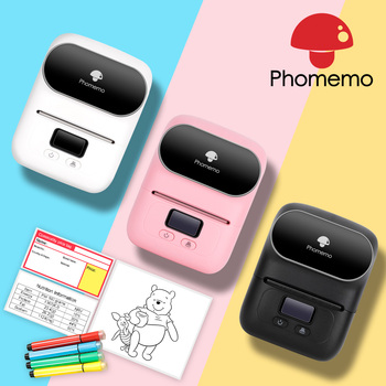 Phoemo-impresora De etiquetas M110 térmica portátil, Mini impresora De Fotos