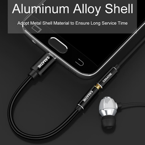 Image 2 - SAMZHE Type C to 3.5 Jack Earphone Cable USB C to 3.5mm AUX Headphones Adapter For Huawei mate 10 P20 pro Xiaomi Mi 6 8 Nubia
