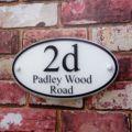 Номер дома Подробная информация о современный знак на дом номер двери адрес таблички пользовательский стеклянный эффект