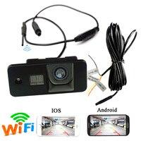 APP WIFI auto hinten kamera wireless für AUDI A3 S3 A4 S4 A6 A6L S6 A8 S8 RS4 RS6 Q7 kamera für Android IOS gerät-in Fahrzeugkamera aus Kraftfahrzeuge und Motorräder bei