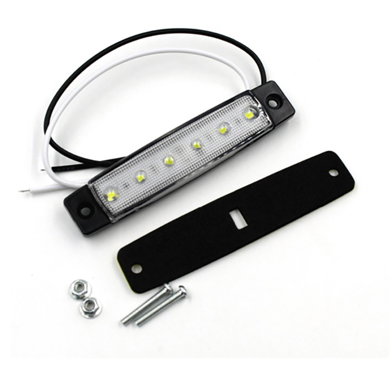 1 Pair White Marine Led Light Courtesy /& Utility Strip for Boats 12 Volts Pair