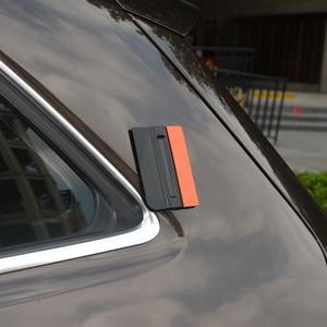 Image 2 - FOSHIO 3 sztuk Vinyl oklejanie samochodów folia z włókna węglowego skrobak magnetyczny folia zaciemniająca okna Bondo bez zarysowań zamsz gumowa ściągaczka Wrap Tool