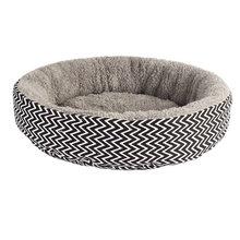 Собачья Лежанка для домашних животных, зимняя мягкая круглая кровать, коврик для сна, питомник, гнездо для собак, подушка для домашних животных, подстилка для домашнего питомца