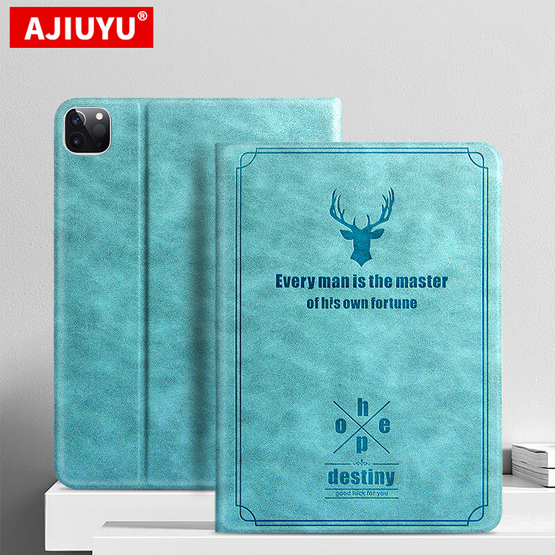 For iPad Pro 11 Case 2020 Protective Cover Ultra Slim PU Leather Stand Cover For new