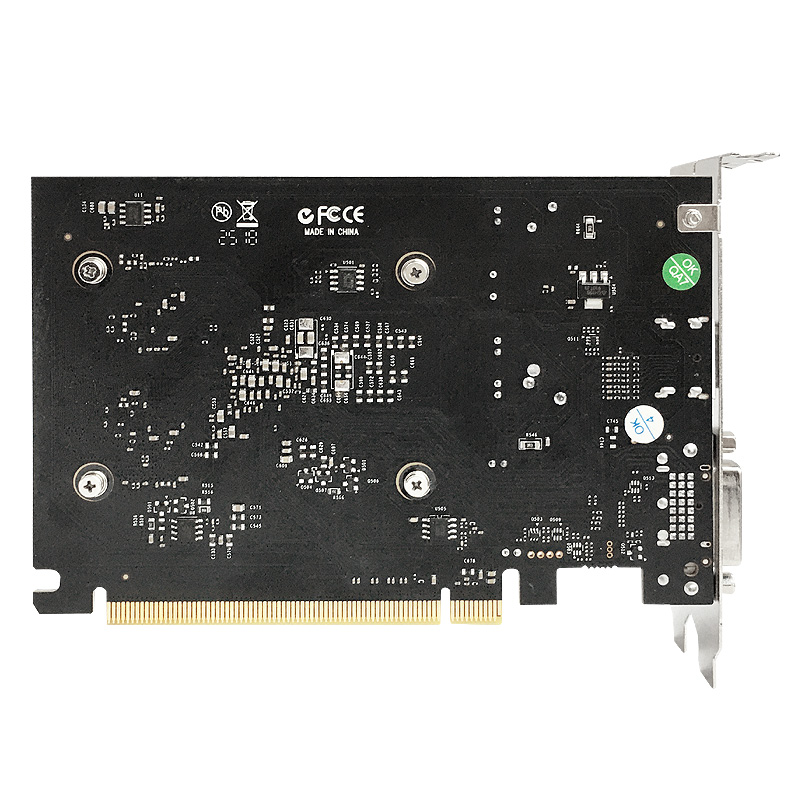 Yeston Video Card GT1030 4G/64bit/DDR4 Gaming Desktop computer PC Video Graphics support DVI/HDMI-compatible 1152/1380MHz 14nm 5