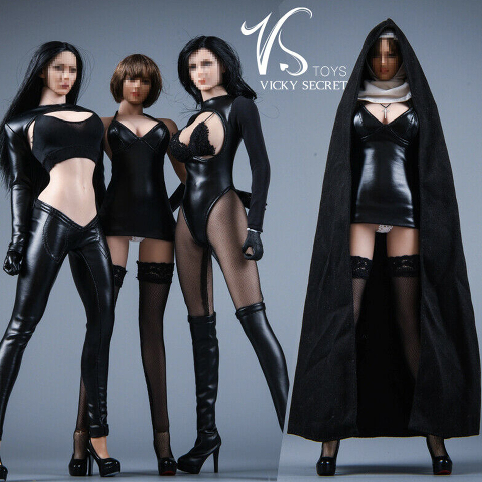 """VSTOYS 19XG60 A 1//6 Scale Nun Cloak Clothes Set for 12/"""" Action Figure Brand New"""