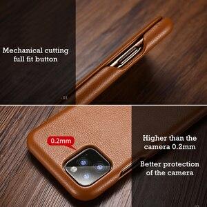Image 5 - Flip Lichee Patroon Rundleer Case Voor Iphone Xs 11 Pro Max MYL 32W Luxe Folio Leather Case Cover Voor Iphone xr 8 Plus