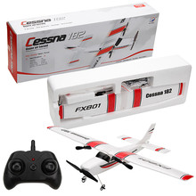Glider RC Helicopter Assembled-Model Plane RTF Remote-Control FX-801 DIY 2CH for Children's