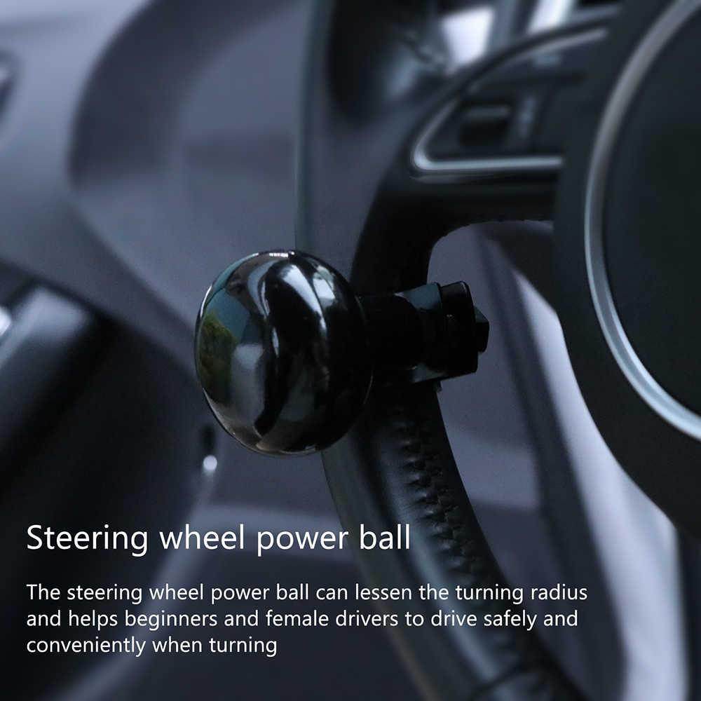 Черный Руль Ручка бустерный мяч ручка Спиннер поворотный для автомобиля Авто