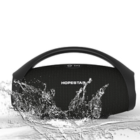 HOPESTAR H32 Powerful Bluetooth Speaker Waterproof Music Column 3D Stereo Speakers Portable Outdoor Wifi Wireless Boombox