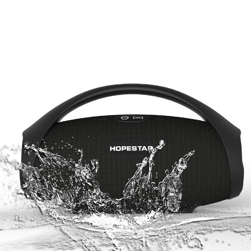 HOPESTAR H32 Powerful Bluetooth Speaker Waterproof Music Column 3D Stereo Speakers Portable Outdoor Wifi Wireless Boombox