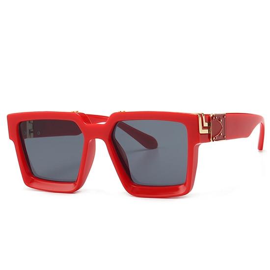 Retro Square Sunglasses Women Ins Popular Sun Glasses Men UV400 7