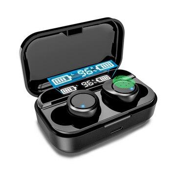 TWS Bluetooth 5.0 Earphones Wireless Headphones Sport Earpiece Mini Headset Stereo Sound In Ear IPX7 Waterproof Power Display