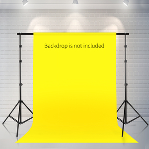 Image 5 - Photo Video Studio Backdrop Background Stand Photography Muslin Backgrounds Picture Canvas Frame Support System With Carry Bag
