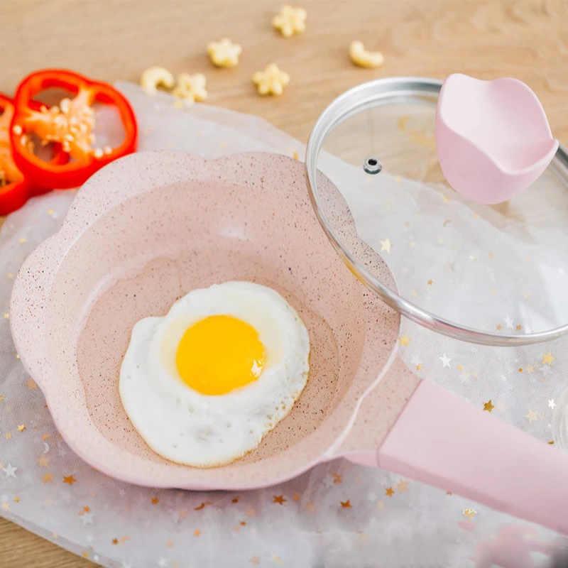 Zestaw garnków garnki kuchenne zupa i garnki suplement diety dla dzieci garnek do mleka kamień mafanowy non-stick garnki gotowanie dzieci małe